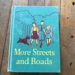Vintage school book